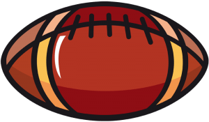 Ball for american football Game