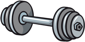 Barbell, muscular exercise, weightlifting Game