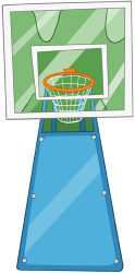 Basketball basket Game