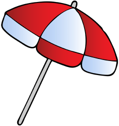 Beach umbrella, beach parasol Game