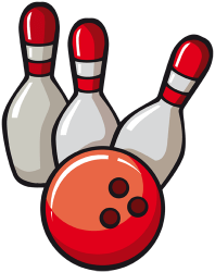 Bowling, popular sport or leisure activity Game