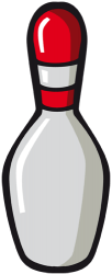 Bowling pin, essential to play bowling Game