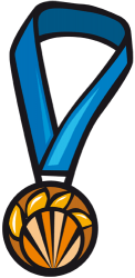 Bronze medal for the third Game