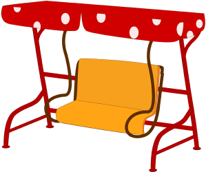 Canopy swing bench Game