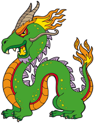 Chinese dragon, oriental legendary creature Game
