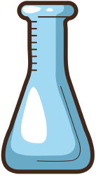 Erlenmeyer flask, conical flask Game