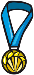 Gold medal for the winner Game