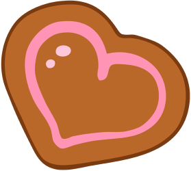Heart's shaped cookie Game