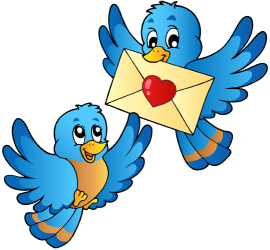 Little birds with the love letter Game