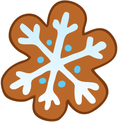 Snowflake biscuit Game
