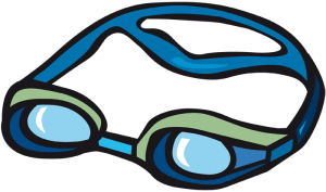 Swimming goggles, watersport glasses Game
