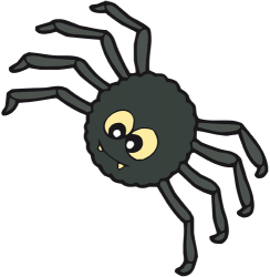 Terrifying Halloween spider Game