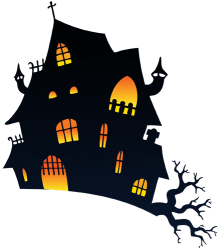 The haunted house. The terror house Game