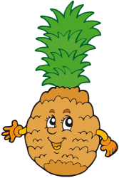 The pineapple is a tropical fruit Game