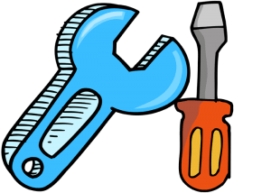 Tools: Wrench and screwdriver Game