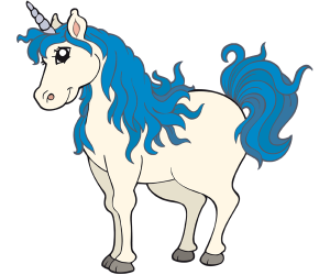A famous legendary creature, an unicorn Game