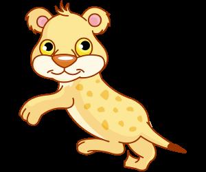 African Wild Animals Dot To Dot Game Printables