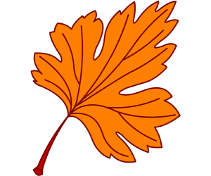 A maple leaf at autumn Game
