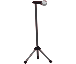 A microphone with stand Game
