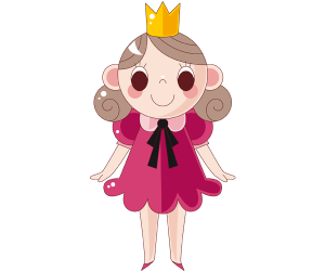A princess, protagonist of tales Game
