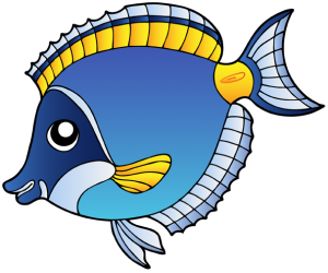 A tropical fish from coral reefs Game