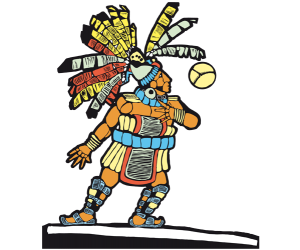 Ancient Mesoamerican ball player Game