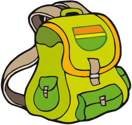 Backpack to go camping Game