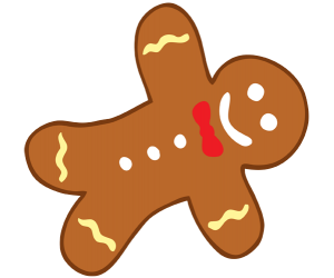 Cookie for the Christmas tree decoration Game