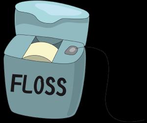 Dental Floss To Clean Between Teeth