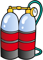 Diving cylinders with breathing gas Game
