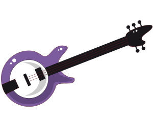 Essential musical instrument for rock music Game