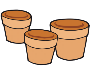 Flower pots and plant pots Game