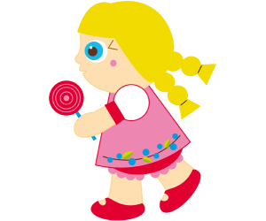 Gretel, the sister with a candy Game