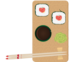 Japanese gastronomy ready to eat Game