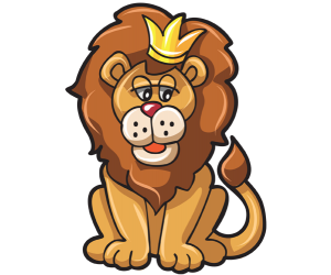 Leo. The lion. Fifth sign of the Zodiac Game