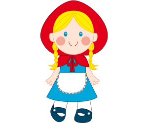 Little Red Riding Hood, the little girl Game