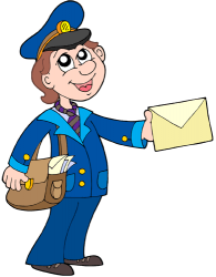 Postwoman, a female postman Game