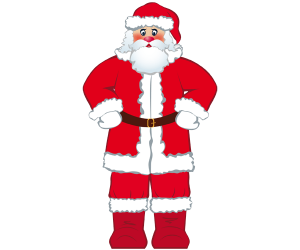 Santa Claus, western Christmas tradition Game