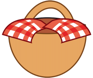 The basket with food for grandma Game