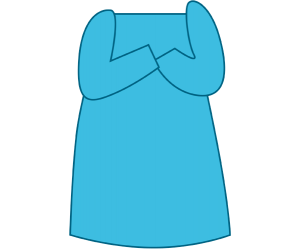 The celestial blue nightgown of grandma Game