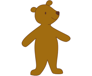 The little bear, the youngest bear Game