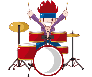 The percussionist, the rock band's drummer Game