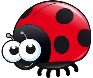 The red ladybug is the most common Game