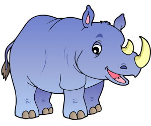 The rhinoceros is a solitary animal Game