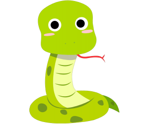 The snake, sixth sign of Chinese horoscope Game