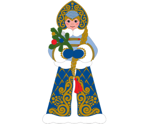 The Snow Maiden, Russian Christmas, Snegurochka Game