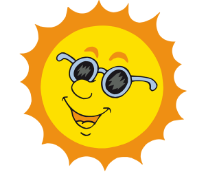 The Sun, the main protagonist of the summer Game