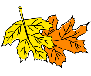 The typical leaves of autumn Game