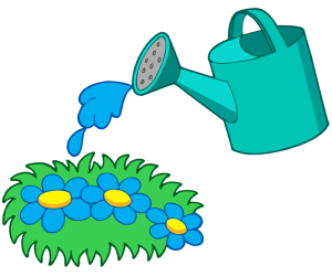The watering can is used to water the plants Game