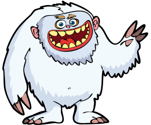 The yeti or the abominable snowman Game